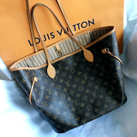 Louis Vuitton Handbags - LOUIS VUITTON Neverfull MM Monogram Bag